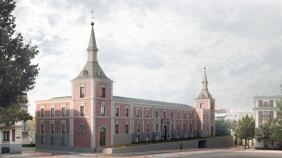Ampliación del Museo del Prado. Salón de Reinos