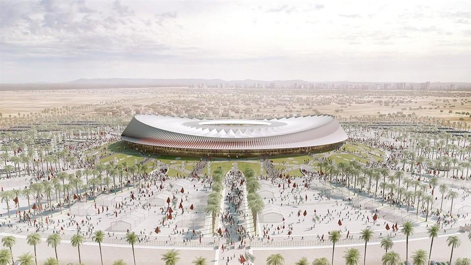 Gran Estadio de Casablanca para la candidatura de los mundiales Marruecos 2026