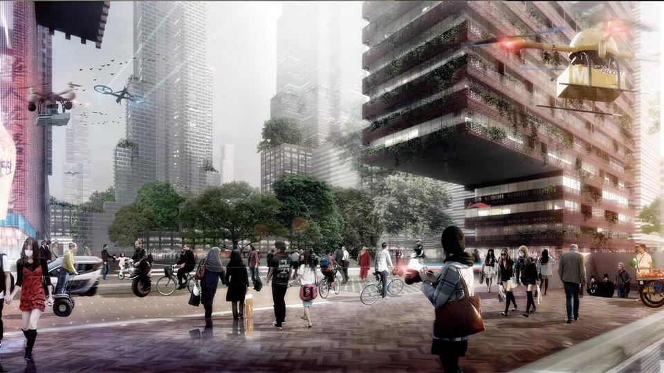 Shenzhen Bay Mega-City