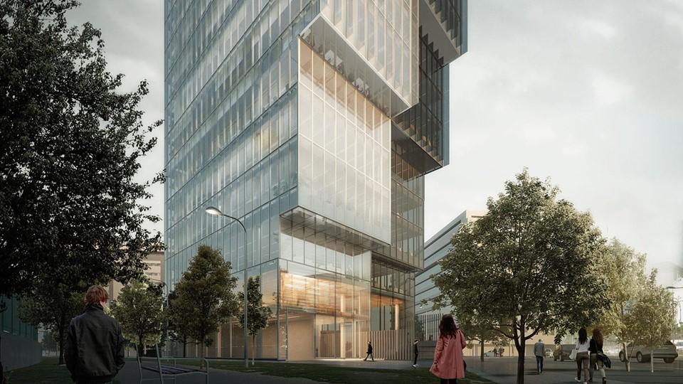 Torre de oficinas