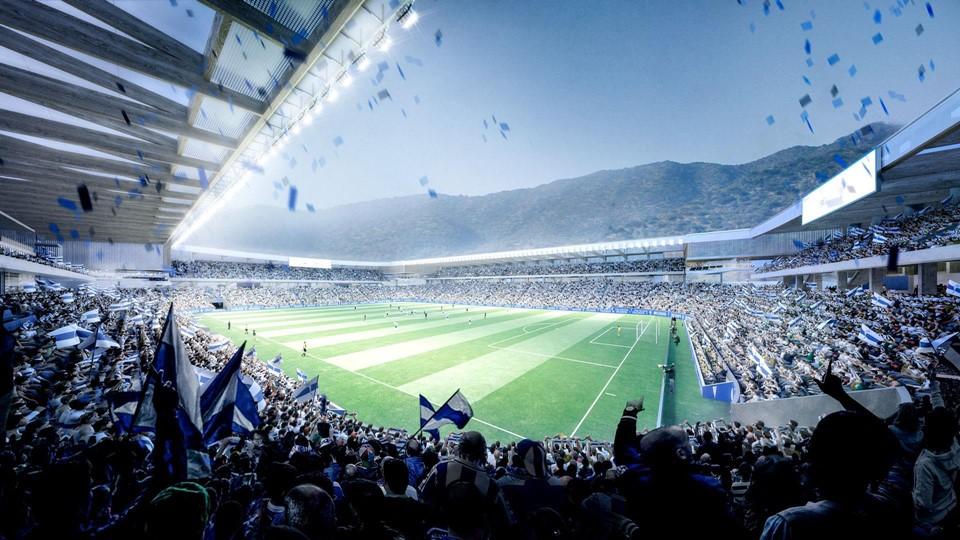 Nuevo Estadio Uiversidad de Chile
