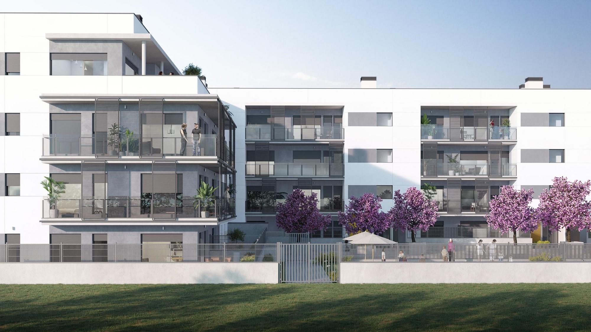 Promoción inmobiliaria Parc Domeny